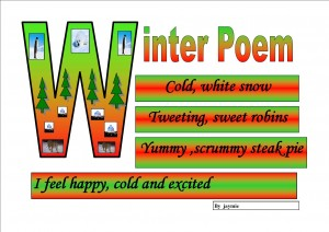 Winter Poem by Jaymie
